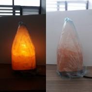 Çizgili Piramit Tuz Lambası